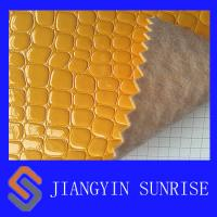 Wholesale 1.0-1.1mm Woven PVC Artificial Leather For Car Seat / Sofa / Furniture from china suppliers