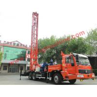 Wholesale Truck mounted rotary turntable water well drilling rig- TDZQT350DR from china suppliers