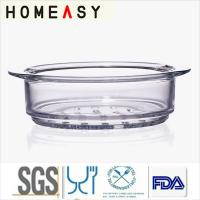 Wholesale Heat-Resistant High Borosilicate Pyrex Glass Steamer For Pots Eco-friendly from china suppliers