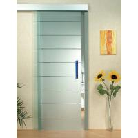 Buy cheap Interior Door Silkscreen Printing Tempered Clear Glass , Decorative Tempered Glass from wholesalers