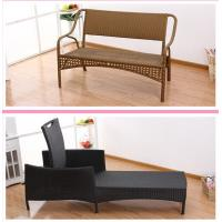 Wholesale summer swimming garden patio pool rattan chaise lounge from china suppliers