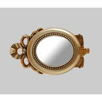 Wholesale high end golden bathroom mirror,home decor wall mirror from china suppliers