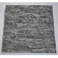 Wholesale Hottest Natural Black Wood Wall Marble Stacked stone,Ledgstone Tiles On Ptomotion from china suppliers