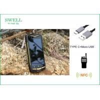 Wholesale Android 5.1 NFC 1D 2D Scanner PTT Industrial Smartphone Rugged Outdoor SmartPhone from china suppliers