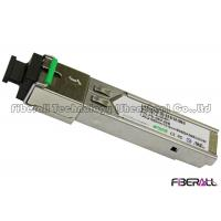 Wholesale Industrial Grade SC Type SFP Single Fiber Optic Transceiver 1.25G 20KM CE FCC from china suppliers