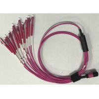 Quality Multi mode Plastic Mpo - Lc Fiber Optic Patch Cables For Network for sale