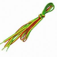 Wholesale Fashionable and nice shoelaces, made of polyester from china suppliers