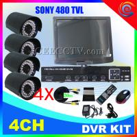 Wholesale Eye Sight H.264 4ch functional DIY DVR KIT CEE-DVR-1004 C938A from china suppliers