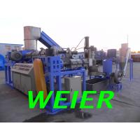 Wholesale PP / PE Plastic Pelletizer Machine , Double Stage Recycling Machinery from china suppliers