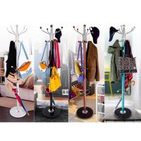 Wholesale Colorful Clothes Hanger Stand , Umbrella Bag Hat And Coat Stand With Marble Base from china suppliers