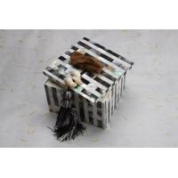Wholesale Hand Paint White Dining Table Ornaments Box for Small Kits from china suppliers
