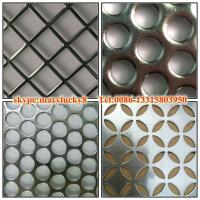 Wholesale 2015 canton fair round hole perforated metal sheet from china suppliers