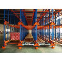 Wholesale Steel Shuttle Pallet Racking For Warehouse Storage , Selective Pallet Racking from china suppliers