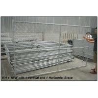 """Quality chain link temporary construction fence panels 6FT X 10F Mesh 2 3/8 """" x 2 3/8"""" ( 60mm x 60mm ) x 12 gauge wire for sale"""