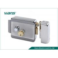 Wholesale Double Lock Cylinder Electric Rim Lock Turn Left or Turn Right to Open the Door from china suppliers