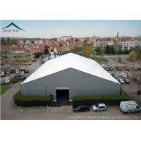 Wholesale White  Aluminium Frame Warehouse Tent With  Rainproof Large  Canopy Fabric from china suppliers