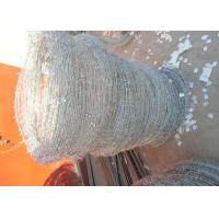 Wholesale Q195 High Tensile Barbed Wire , Double Strand Barbed Wire For Security Fence from china suppliers