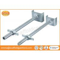 China Scaffolding adjustable painted galvanized U head screw jack with 700mm for measure the horizontal level on sale