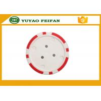 Wholesale 30*3mm Plastic 7g Light Custom Poker Chips With Two Custom Stickers from china suppliers