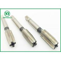 Wholesale DIN 352 Metric Pipe Tap Set , White Finished Acme Thread tap hss hand taps from china suppliers