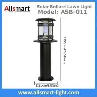 Wholesale 12LED 60cm 24Inch Height Black Sensor 2500mAh Westinghouse Solar Bollard Lawn Light Landscaping Yard Driveway Lamp from china suppliers