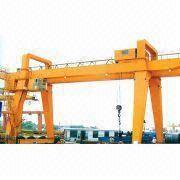 Buy cheap MG Model Double Beam Trolley Hook Gantry Crane from wholesalers