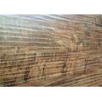 Wholesale Wooden Rough Distressed V Groove Laminate Flooring in Bedroom / Commercial from china suppliers