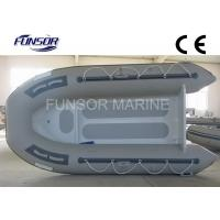 Wholesale Gray Aluminum RIB Boat Foldable Inflatable Boat Without Deck light weight from china suppliers