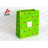 Wholesale Small Xmas Holiday Paper Gift Bags , Unique Personalized Halloween Paper Bags from china suppliers