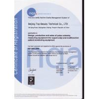 Top Medical Technology Co., Limited Certifications
