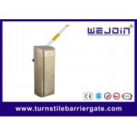 Wholesale Manual Release 0.6s Traffic Barrier Gate For Effective Toll Processing Parking System from china suppliers