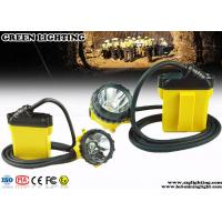 Wholesale Strong Brightness CREE LED Mining Lamp , Low Power Warning Mining Cap Lights from china suppliers
