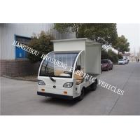 Wholesale 48V Battery Power Flatbed Delivery Truck , Electric Cargo Truck With Semi Convertible Cab from china suppliers