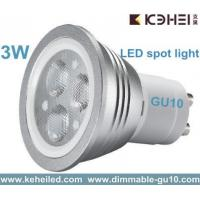 Wholesale 75lm/w 3w GU10 LED spot light with Lextar 3030 led chip from Taiwan  from china suppliers