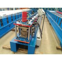 Buy cheap 0.42mm Thickness Gutter Cold Roll Forming Machine With 5.5kw Power Full Automatic from wholesalers
