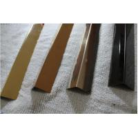 Wholesale stainless steel angle transition strip SS316 angle bronze mirror finish from china suppliers