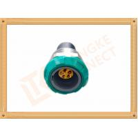 Wholesale Self Locking 5 Pin Waterproof Circular Connector / Push Pin Connector from china suppliers