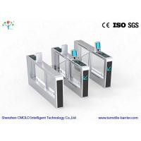 Wholesale Door Secured Access Control Biometric Turnstile Facial Recognition Turnstile from china suppliers