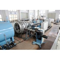 Buy cheap Plastic gas water pipe extruder machine-pipe extruder-extrusion line-extruder from wholesalers