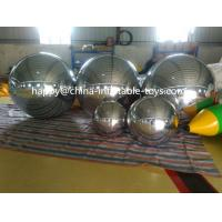Buy cheap 2m Inflatable Advertising Air Balloons , Party Decorative Large Mirror Ball from wholesalers