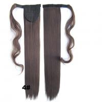 Wholesale Soft Bond Long Synthetic Heat Resistant Hair Extensions Silky Straight 20 Inch from china suppliers