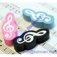 China new design eraser,music eraser,new fashion eraser,new gift eraser on sale