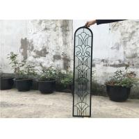 Wholesale Window Door Flat Clear Beveled Glass , Pattern Custom Beveled Glass Panels from china suppliers
