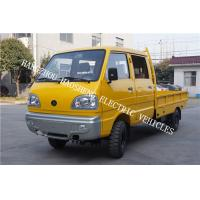 Wholesale Double Cab Electric Transport Truck Yellow Color 2000kg Load Capacity BD-2 from china suppliers