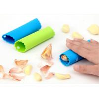 Wholesale Multifunction Blue Green Silicone Kitchenware Roll Shaped Garlic Peeler Tube from china suppliers