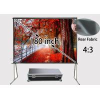 Wholesale 3657 x 2746mm Large Rear Projection Screens / Rear Projector Screens For School Education from china suppliers