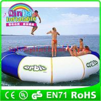 Wholesale QinDa Hot selling Outdoor Water Sports Games water blob trampoline from china suppliers