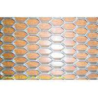 Wholesale Diamond Mild Steel Expanded Metal Mesh For Ceiling / Wall Decoration from china suppliers