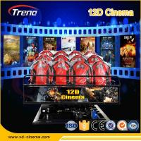 Wholesale 5KW Electric System 9D VR Cinema 9D VR Simulator Six Seat Players for Amusement from china suppliers