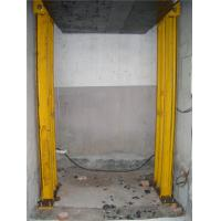 Wholesale Goods Hydraulic cargo lift , 2000 KG guide rail lift for warehouse from china suppliers